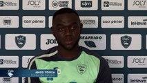 Avant Caen - HAC, interview de Amos Youga