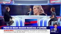 Privée de Medef, Marion Maréchal s'exprime