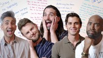 The Queer Eye Cast Designs Their Own High School Yearbook