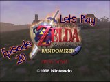 Lets Play - Legend of Zelda - Ocarina of Time Randomizer Oilers Edition - Episode 20 - Spirit Temple - Young Link Section