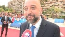 Gérard Lopez sur le tapis rouge avant le tirage