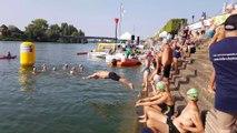 Swim'Saône : 70 nageurs se jettent dans la Saône pour des épreuves de 500 m à 18 km
