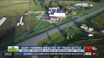 Ag Report: Trade war affecting dairy farmers, Farmers' Almanac calling for bitterly cold winter, and tech solutions for ag
