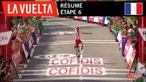 Résumé - Étape 6   La Vuelta 19