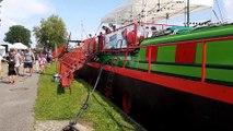 Wolfersdorf :  La dernière escale de la péniche du Grand Est