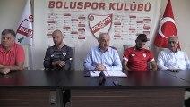 Boluspor, Hakan Canbazoğlu ve Hakan Arslan ile birer yıllık sözleşme imzaladı - BOLU