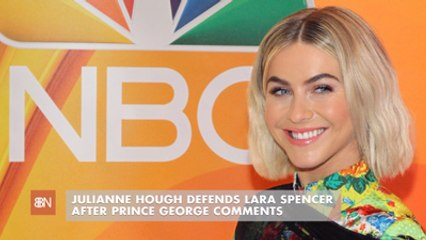 Julianne Hough Talks About Prince George
