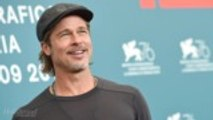 Brad Pitt Dodges Oscar Questions About 'Ad Astra' at Venice Film Festival | THR News