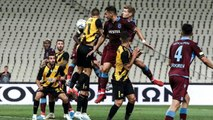 Trabzonspor evinde AEK'ya 2-0 yenildi ama turu geçti