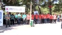 Gaziantep'te hükümlüler çevre temizliği yaptı