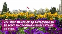 PHOTOS. En vacances avec Elton John dans le Sud de la France, Victoria Beckham se lâche !