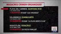 Las seis masacres más recientes en México