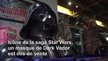 Star Wars : un masque de Dark Vador aux enchères