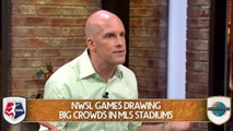 NWSL Matches Are Drawing Large Crowds In MLS Stadiums