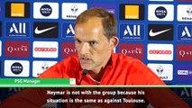 Neymar's situation hasn't changed - Tuchel