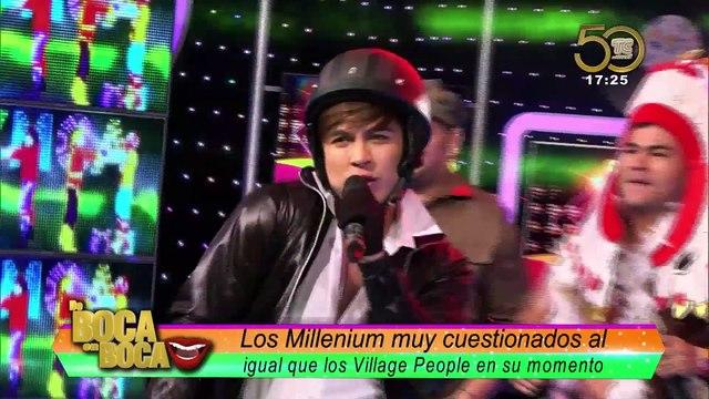 Los Millenium en la piel de los Village People ¿cuestionados por su look?