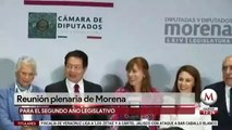 AMLO se reune con diputados y senadores de Morena para revisar agenda legislativa