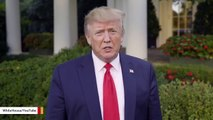 Trump Releases Video To Warn About 'Absolute Monster' Hurricane Dorian