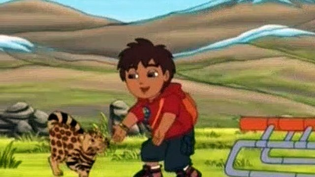 Go Diego Go Season 5 Episode 4 Pampas Cat and Friends Help the Rescue Center