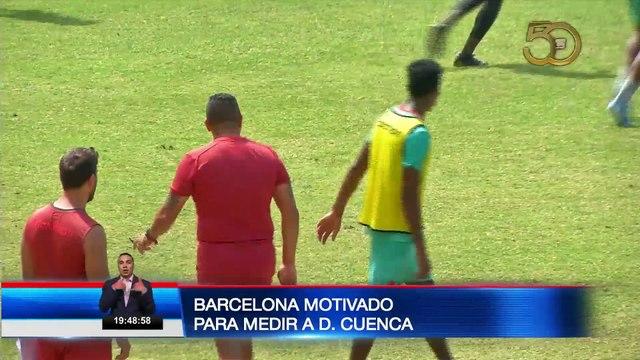 Barcelona motivado para medir al Dep. Cuenca