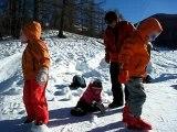 Ski et luge aux orres