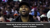 Breaking News - Arrest warrant issued for DeMarcus Cousins
