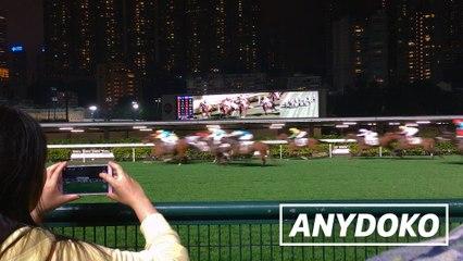 Happy Valley Racecourse in Hong Kong