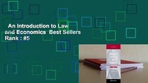 An Introduction to Law and Economics  Best Sellers Rank : #5