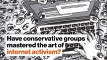 Have conservative groups mastered the art of internet activism?