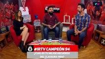 """#IRTV Perico Pérez: """"Fue el último equipo que se acercó al paladar negro"""""""