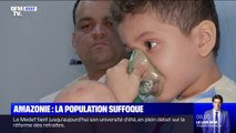 Amazonie: la population brésilienne suffoque sous la fumée
