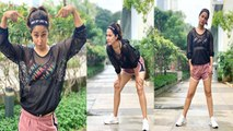 Hina Khan looks perfect fit in her sporty look | FilmiBeat