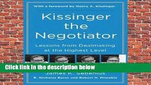 Full E-book  Kissinger the Negotiator Complete