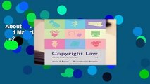 About For Books  Copyright Law: Cases and Materials (v1.0)  Best Sellers Rank : #2