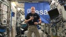 Luca Parmitano nous dévoile ses dernières expériences à bord de la Station spatiale internationale
