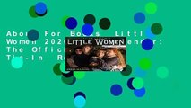 About For Books  Little Women 2020 Wall Calendar: The Official Movie Tie-In  Review