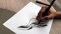 """Comment dessiner """"In waves"""", la leçon de dessin d'AJ Dungo"""