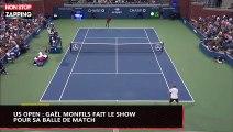 US Open : Gaël Monfils fait le show sur sa balle de match (vidéo)