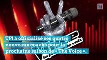 Marc Lavoine, Lara Fabian, Amel Bent et Pascal Obispo, nouveaux coachs de The Voice France