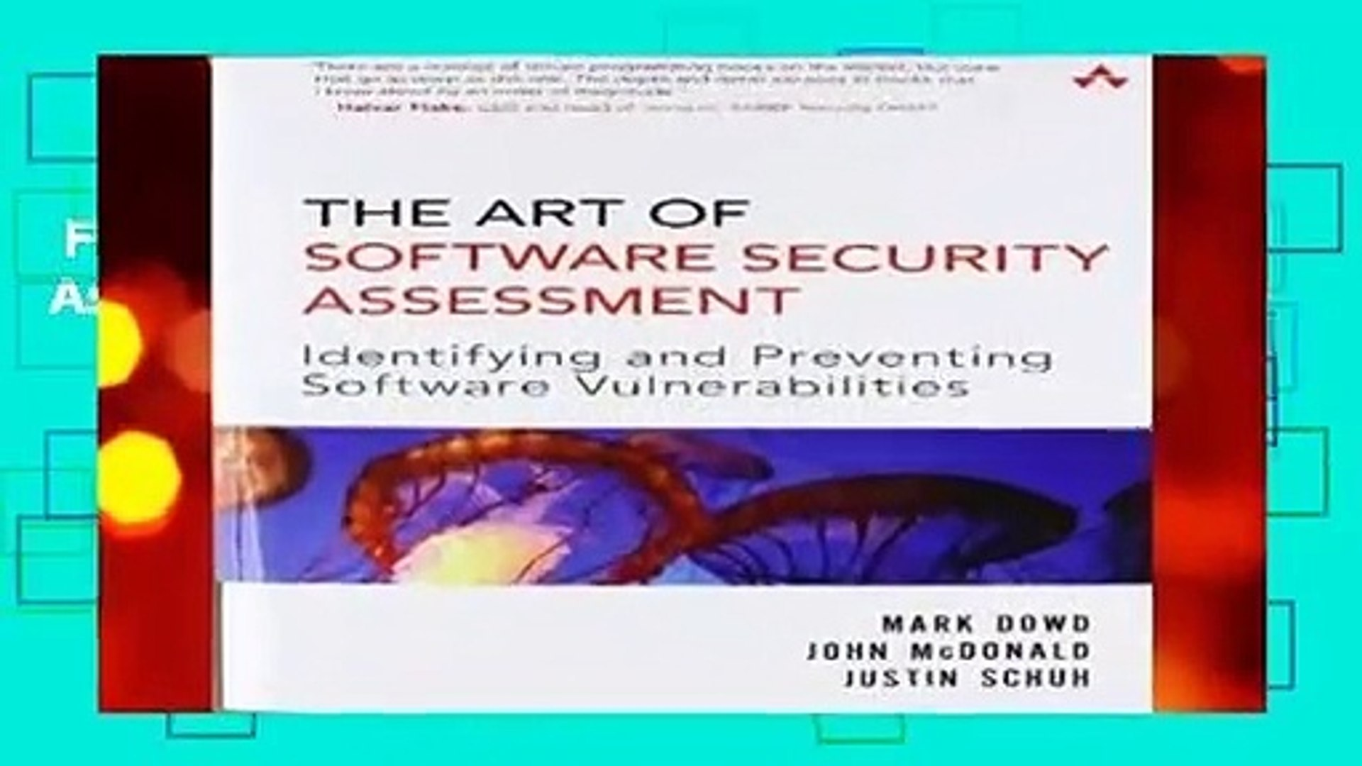 Full E-book  The Art of Software Security Assessment: Identifying and Preventing Software