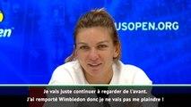 """US Open - Halep : """"J'ai remporté Wimbledon, je ne vais pas me plaindre !"""""""