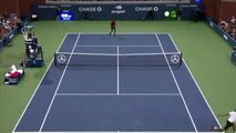 Tennis - US Open - Gaël Monfils 360 against Marius Copil