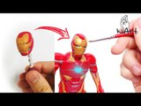 Artist Creates Miniature Superhero Figure Using Polymer Clay