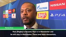 Evra insists Pogba should stay at United