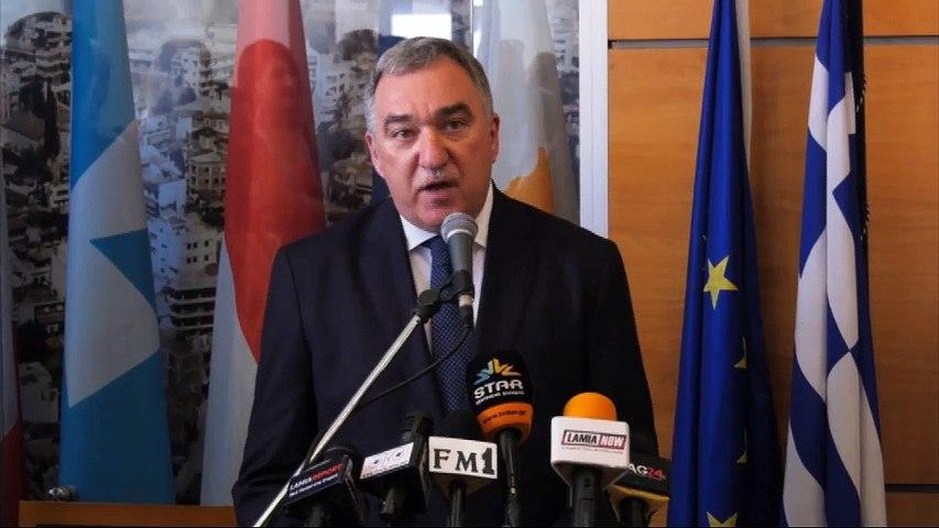 Ορκίστηκε Δήμαρχος Λαμίας ο Θ. Καραϊσκος