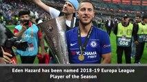 Hazard wins Europa League award