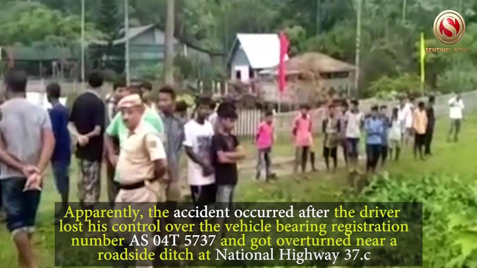 Four Forest Personnel killed in Sivasagar Road Accident