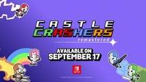 Castle Crashers Remastered - Date de sortie Nintendo Switch
