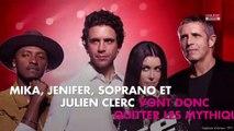 The Voice 9 : découvrez qui remplace Jenifer, Soprano, Mika et Julien Clerc !