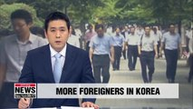 No. of foreigners in S. Korea reaches 1.65 mil. in 2018, up 11.6% y/y